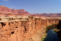 Colorado River at Marble Canyon, AZ