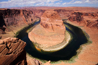 Horseshoe Bend of the Colorado River, near Page AZ