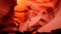 Lower and Upper Antelope Canyon, Page, Arizona