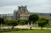 Louvre from Tuileries Grden