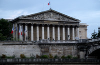 Palais Bourbon, seat of the Assemblee National