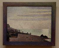 Evening, Honfleur (Seurat), MoMA, NYC