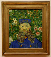 Portrait of Joseph Roulin (Van Gogh), MoMA, NYC