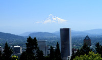 Mt. Hood from Portland, OR