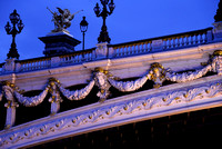 Embellishments on Pont Alexandre III