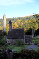 St. Kevin's Church, Monastic town at Glendalough