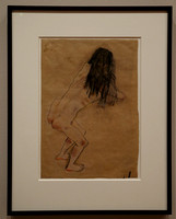 A Nude with Back Turned (Kokoschka), MoMA, NYC