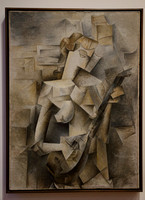 Girl with a Mandolin (Picasso), MoMA, NYC