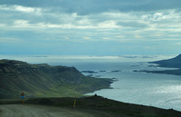 Breiðafjördur, from high on Rte 60