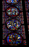 Stained glass, Upper chapel, Ste-Chapelle, Île de la Cité